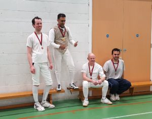 Blackheath Fencing Club Foil Champ winners
