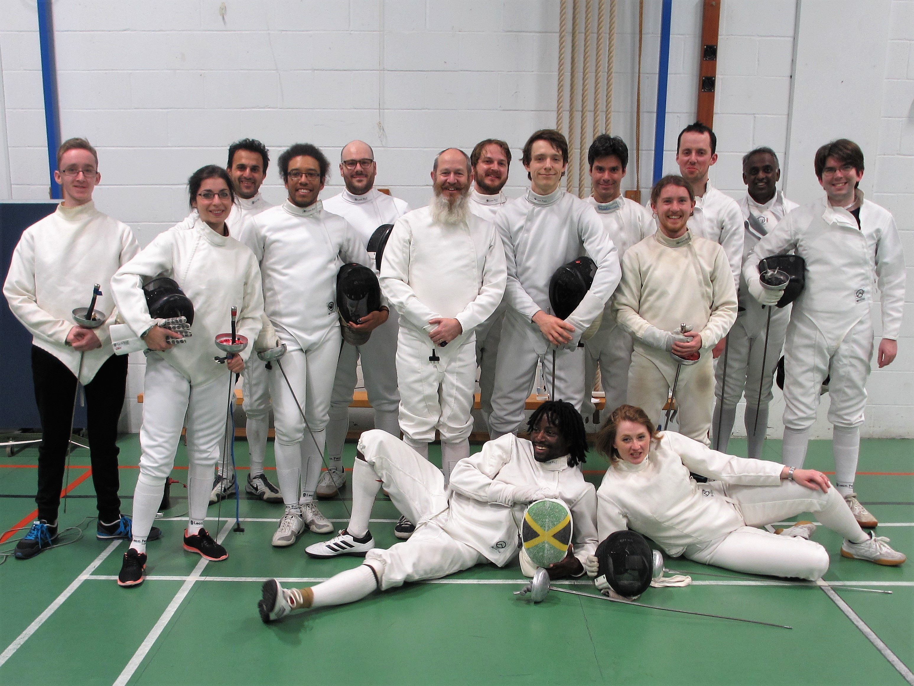 Blackheath vs Morley Epee teams 1st Nov 18